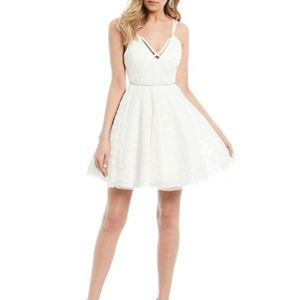 DEAR MOON - Mesh Bead Dress-Rhinestone Waist